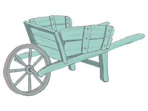 Wheelbarrow drawing